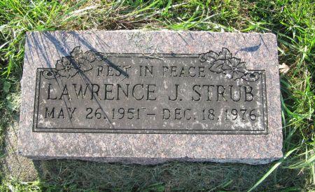 STRUB, LAWRENCE J. - Dubuque County, Iowa   LAWRENCE J. STRUB