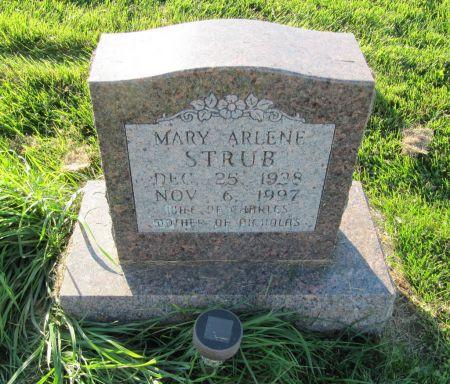 STRUB, MARY ARLENE - Dubuque County, Iowa   MARY ARLENE STRUB