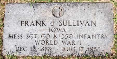 SULLIVAN, FRANK J. - Dubuque County, Iowa | FRANK J. SULLIVAN