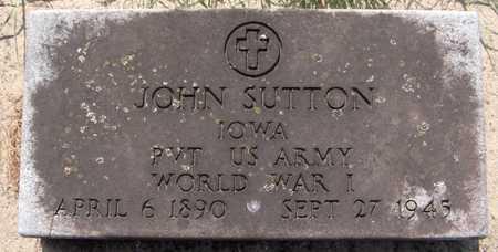 SUTTON, JOHN - Dubuque County, Iowa   JOHN SUTTON