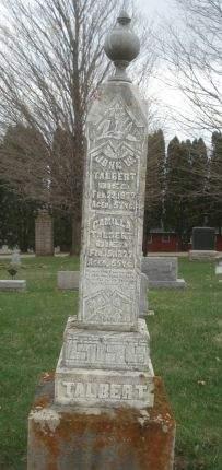 TALBERT, JOHN W. - Dubuque County, Iowa | JOHN W. TALBERT