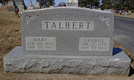 TALBERT, GEORGE - Dubuque County, Iowa | GEORGE TALBERT