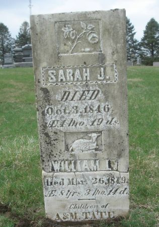 TATE, SARAH J. - Dubuque County, Iowa | SARAH J. TATE