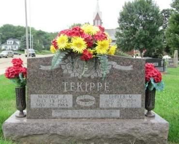 TEKIPPE, BENEDICT F. (BUDDY) - Dubuque County, Iowa   BENEDICT F. (BUDDY) TEKIPPE