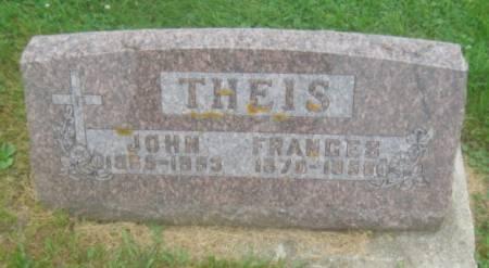 THEIS, FRANCES - Dubuque County, Iowa | FRANCES THEIS
