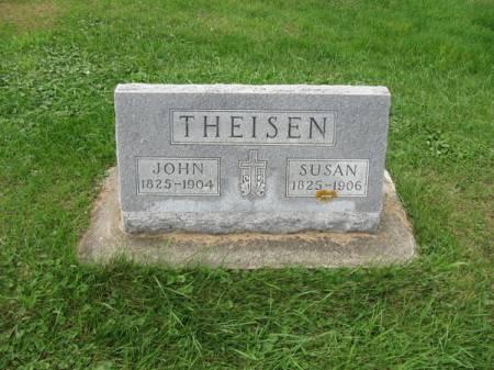 THEISEN, JOHN - Dubuque County, Iowa   JOHN THEISEN