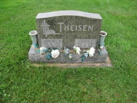 THEISEN, CECILLA E. - Dubuque County, Iowa   CECILLA E. THEISEN