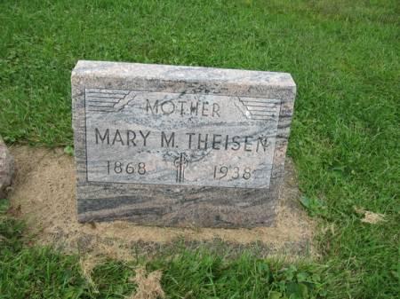 THEISEN, MARY M. - Dubuque County, Iowa | MARY M. THEISEN