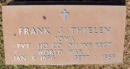 THIELEN, FRANK J. - Dubuque County, Iowa | FRANK J. THIELEN