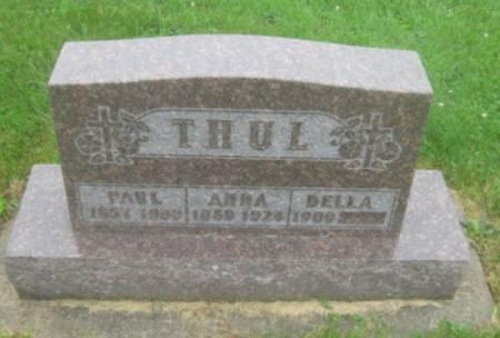 THUL, ANNA - Dubuque County, Iowa   ANNA THUL