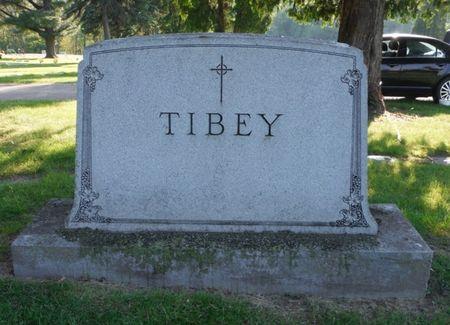 TIBEY, FAMILY MONUMENT - Dubuque County, Iowa   FAMILY MONUMENT TIBEY