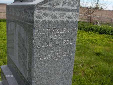 TISSERAND, A.C. - Dubuque County, Iowa | A.C. TISSERAND