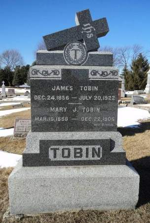 TOBIN, MARY J. - Dubuque County, Iowa | MARY J. TOBIN