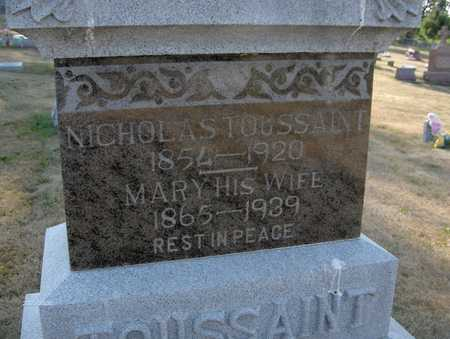 TOUSSAINT, NICHOLAS - Dubuque County, Iowa | NICHOLAS TOUSSAINT