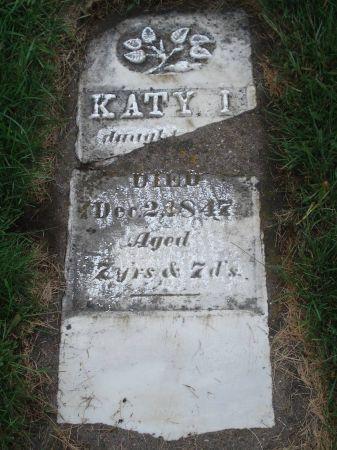 UNKNOWN, KATY I. - Dubuque County, Iowa | KATY I. UNKNOWN