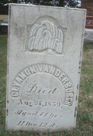 VANDERBURGH, CLYAMON - Dubuque County, Iowa   CLYAMON VANDERBURGH