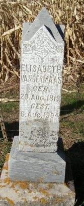 VANDERMAAS, ELISABETH - Dubuque County, Iowa | ELISABETH VANDERMAAS
