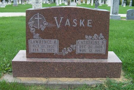 VASKE, LAWRENCE R. - Dubuque County, Iowa | LAWRENCE R. VASKE
