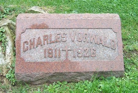 VORWALD, CHARLES - Dubuque County, Iowa   CHARLES VORWALD