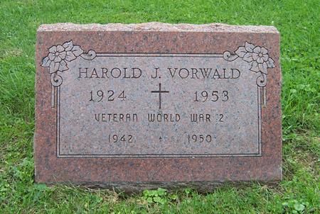 VORWALD, HAROLD J. - Dubuque County, Iowa   HAROLD J. VORWALD