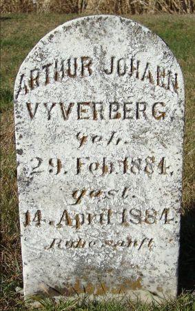 VYVERBERG, ARTHUR JOHANN - Dubuque County, Iowa | ARTHUR JOHANN VYVERBERG