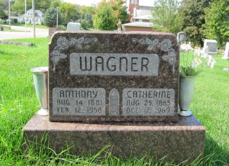 WAGNER, CATHERINE - Dubuque County, Iowa | CATHERINE WAGNER