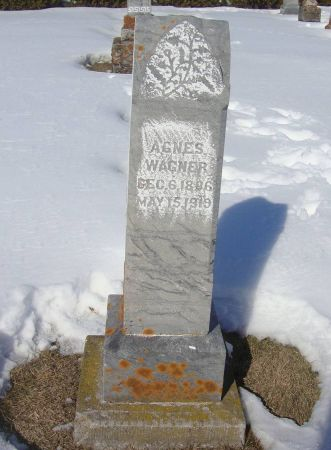 WAGNER, AGNES - Dubuque County, Iowa | AGNES WAGNER