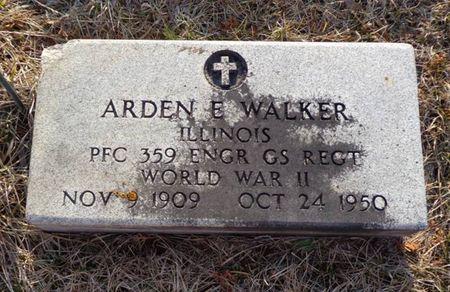 WALKER, ARDEN E. - Dubuque County, Iowa   ARDEN E. WALKER