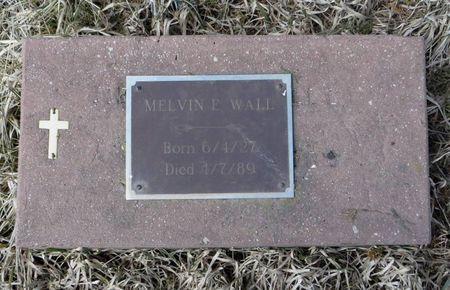 WALL, MELVIN E. - Dubuque County, Iowa | MELVIN E. WALL