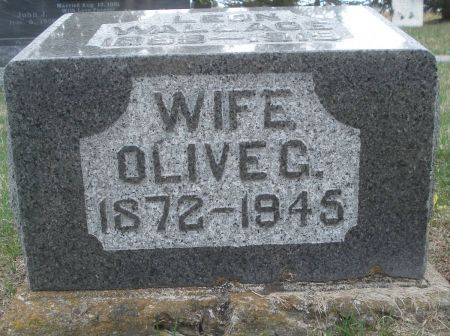 WALLACE, OLIVE G. - Dubuque County, Iowa | OLIVE G. WALLACE