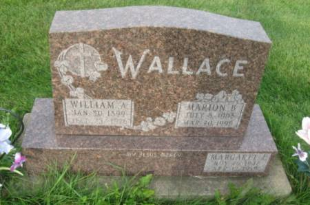 WALLACE, MARGARET E. - Dubuque County, Iowa | MARGARET E. WALLACE