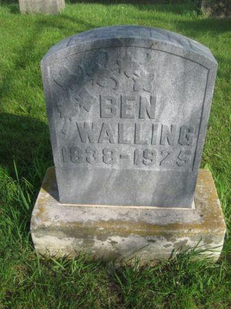 WALLING, BEN - Dubuque County, Iowa | BEN WALLING
