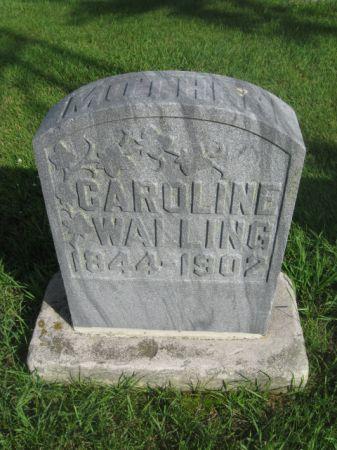 WALLING, CAROLINE - Dubuque County, Iowa   CAROLINE WALLING