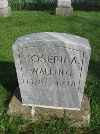 WALLING, JOSEPH A. - Dubuque County, Iowa | JOSEPH A. WALLING