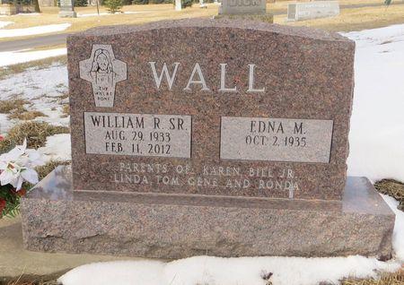 WALL SR., WILLIAM R. - Dubuque County, Iowa   WILLIAM R. WALL SR.