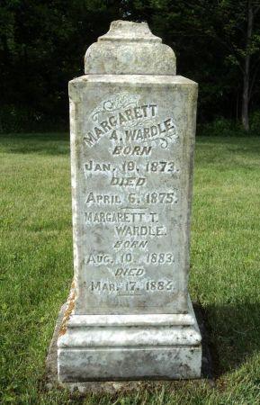 WARDLE, MARGARET - Dubuque County, Iowa   MARGARET WARDLE