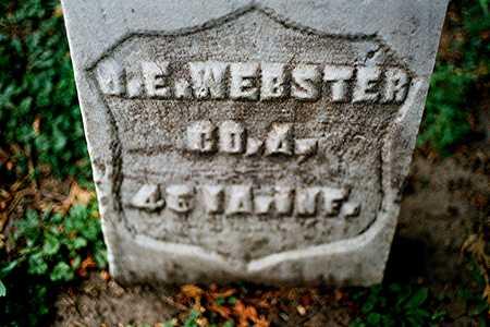 WEBSTER, J. E. - Dubuque County, Iowa | J. E. WEBSTER