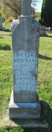 WEIDEMANN, MARY - Dubuque County, Iowa | MARY WEIDEMANN
