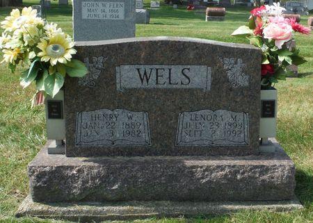 WELS, LENORA M. - Dubuque County, Iowa   LENORA M. WELS