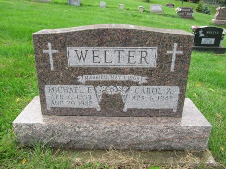 WELTER, MICHAEL F. - Dubuque County, Iowa   MICHAEL F. WELTER