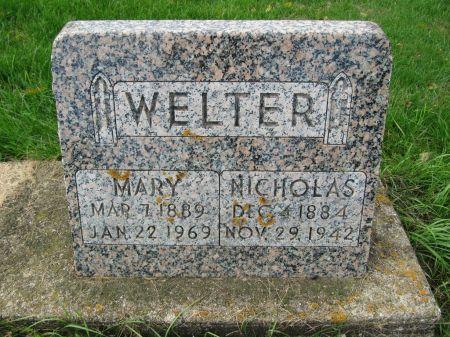 WELTER, NICHOLAS - Dubuque County, Iowa | NICHOLAS WELTER
