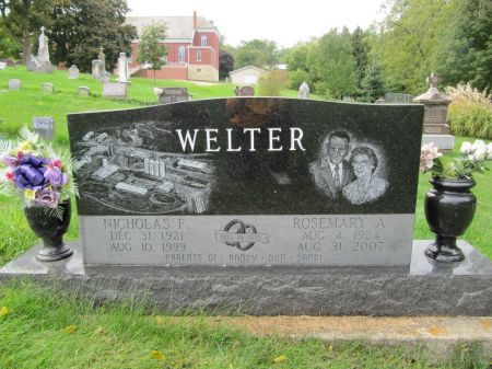 WELTER, NICHOLAS F. - Dubuque County, Iowa | NICHOLAS F. WELTER