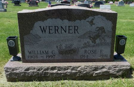 WERNER, ROSE E. - Dubuque County, Iowa | ROSE E. WERNER