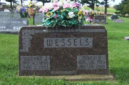 WESSELS, MARY B. - Dubuque County, Iowa | MARY B. WESSELS