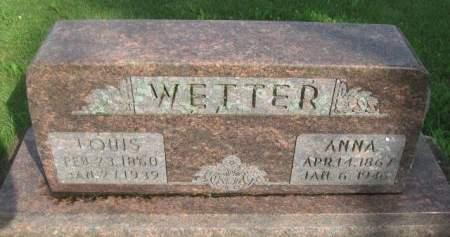 WETTER, LOUIS - Dubuque County, Iowa   LOUIS WETTER