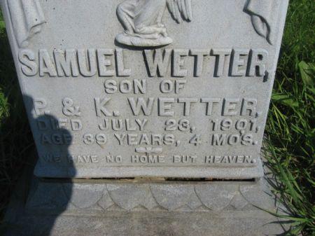 WETTER, SAMUEL - Dubuque County, Iowa | SAMUEL WETTER