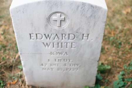 WHITE, EDWARD H. - Dubuque County, Iowa | EDWARD H. WHITE