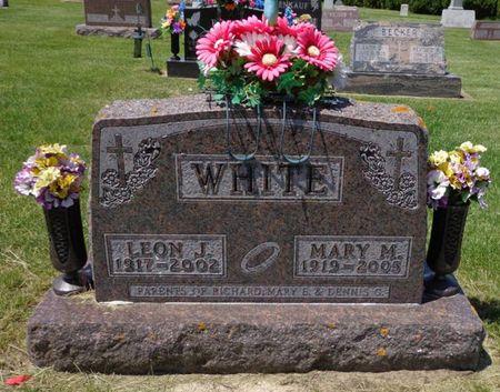 WHITE, LEON J. - Dubuque County, Iowa | LEON J. WHITE
