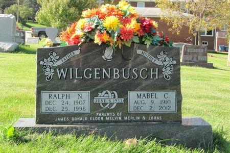 WILGENBUSCH, MABEL C. - Dubuque County, Iowa | MABEL C. WILGENBUSCH