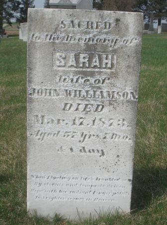WILLIAMSON, SARAH - Dubuque County, Iowa | SARAH WILLIAMSON